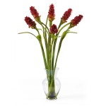 Oriental Ginger Liquid Illusion Silk Arrangement