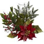 Poinsettia Candleabrum