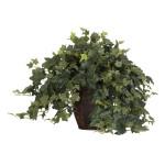 Puff Ivy w/Decorative Vase