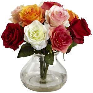 Rose Arrangement w/Vase