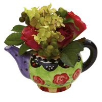 Rose & Hydrangea w/Decorative Vase