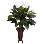 Spathyfillium w/Stand Silk Plant