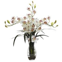 Triple Cymbidium Orchid Arrangement