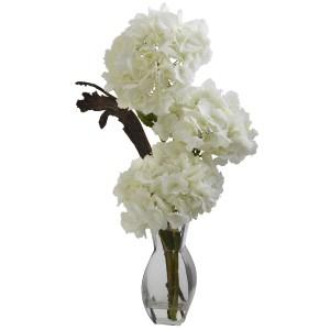 Triple Hydrangea w/Vase