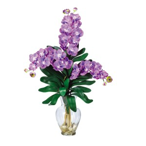 Triple Vanda Orchid Liquid Illusion